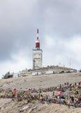 Tour de France 2013 di Mont Ventoux- Fotografie Stock Libere da Diritti
