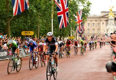 Tour de France em Londres, Reino Unido Foto de Stock Royalty Free