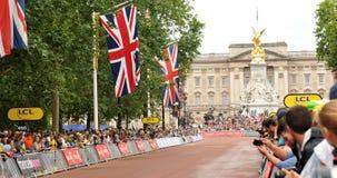 Tour de France em Londres, Reino Unido Imagens de Stock Royalty Free
