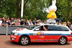 Tour de France en Londres, Reino Unido Fotografía de archivo libre de regalías