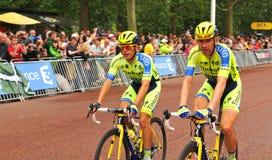 Tour de France i London, UK Royaltyfria Foton
