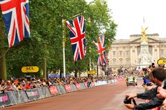 Tour de France i London, UK Arkivfoton