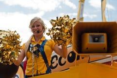Tour de France - la publicité de BIC Image libre de droits