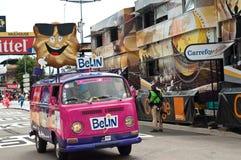 Tour de France - la publicité de belin Photo libre de droits