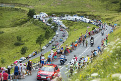 Tour de France Landscape Royalty Free Stock Images