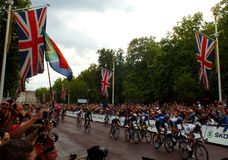 Tour de France - le mail, Londres Photos stock