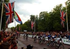 Tour de France - le mail, Londres Photos stock
