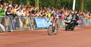 Tour de France in London, Großbritannien Lizenzfreies Stockbild