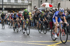 Tour de France, in London Royalty Free Stock Photos
