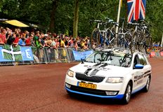 Tour de France in London, UK Royalty Free Stock Photography