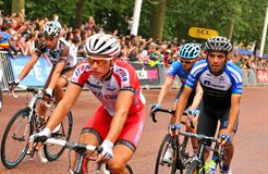 Tour de France in London, UK Royalty Free Stock Photo