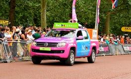 Tour de France in London, UK Royalty Free Stock Photos