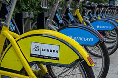 Tour de France, Londra Fotografia Stock