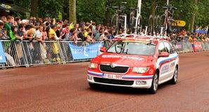 Tour de France a Londra, Regno Unito Fotografia Stock Libera da Diritti