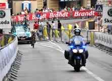 Tour de France Monaco 2009 stockfoto