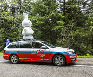 Tour de France 2014 Nijntje-Wohnwagen-Le Stockfoto