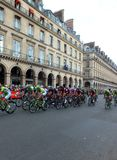 Tour de France - Parigi 2014 fotografie stock libere da diritti