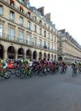 Tour de France - Paris 2014 Photos libres de droits