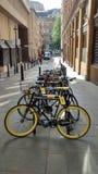 Tour de France que dá um ciclo o velo Fotos de Stock