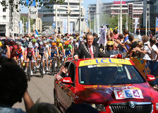 Tour de France Rotterdam Royalty Free Stock Photography