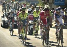 "Tour De France 2016 ruttetapp 17: Bernswi†""Finhaut Emosson (swi) Royaltyfri Bild"