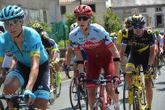 Tour de France - Stadium 2 - 2018 Lizenzfreies Stockfoto