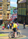 Tour de France Stadium 2014 Harrogate Yorkshire 1 Lizenzfreie Stockbilder