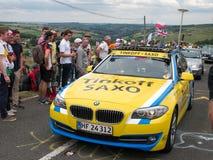 Tour de France 2014, Yorkshire fotografie stock