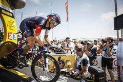102. Tour de France - Zeitfahren - erste Phase Stockbild