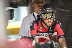 102. Tour de France - Zeitfahren - erste Phase Stockfoto