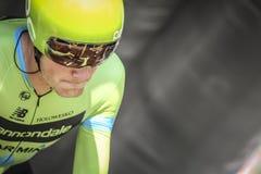 102. Tour de France - Zeitfahren - erste Phase Lizenzfreies Stockfoto