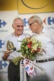 102. Tour de France - Zeitfahren - erste Phase Stockfotos