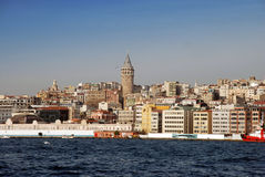 Tour de Galata Images stock