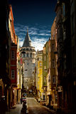 Tour de Galata Photographie stock