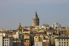 Tour de Galata, Istanbul Photo libre de droits