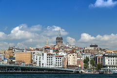 Tour de Galata, Istanbul en Turquie Photo stock