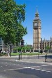Tour de grand Ben à Westminster, Londres, R-U Image libre de droits