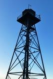 Tour de guet d'Alcatraz Images stock