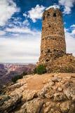 Tour de guet de vue de désert Photos libres de droits