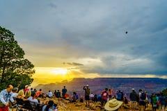 Tour de guet de vue de désert de parc national de Grand Canyon photographie stock libre de droits