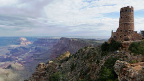 Tour de guet en parc national de Grand Canyon Photographie stock