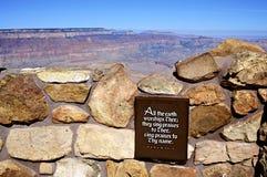 Tour de guet Grand Canyon, AZ de vue de désert Photo libre de droits