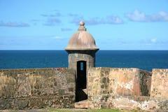 Tour de guet vieux San Juan Images libres de droits