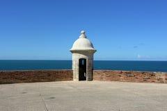 Tour de guet vieux San Juan Photos stock