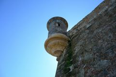 Tour de guet vieux San Juan images stock