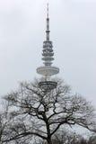Tour de Hambourg TV Images stock