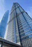 Tour de Jinmao, gratte-ciel de point de repère à Changhaï, Chine Image stock