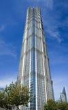 Tour de Jinmao, gratte-ciel de point de repère à Changhaï, Chine Image libre de droits
