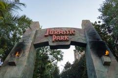 Tour de Jurassic Park photographie stock libre de droits