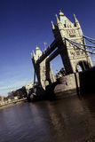 tour de l'Angleterre Londres de passerelle Images libres de droits